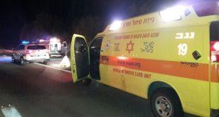 פצועים בתאונה בסמוך למכללת ספיר