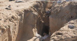 """מנהרה שהתגלתה באפריל האחרון. צילום: דובר צה""""ל"""