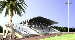 האצטדיון בשלבי סיום