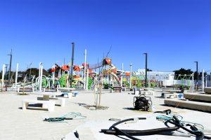 פארק הילדים החדש.