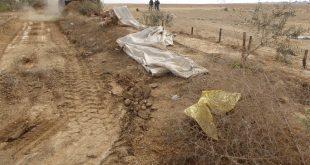 מבצע פינויים בנגב | צילום: רשות מקרקעי ישראל