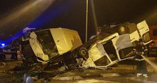שלושה פצועים בתאונה בצומת איבים