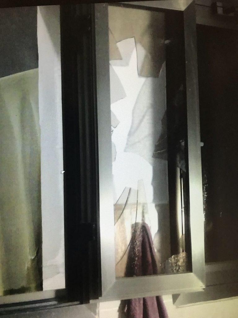 פריצה לבית כנסת. צילום: דוברות המשטרה