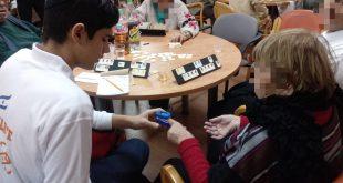 התלמידים שומרים על בריאות הקשישים, שר החינוך בנט בירך