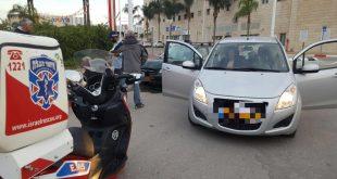 4 פצועים קל בתאונה בשדרות