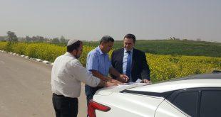 שר התחבורה ישראל כץ סייר בשדרות