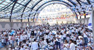 חגיגת עצמאות לכלל ילדי הגנים בשדרות
