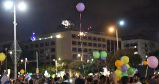 אמש: מחאת הדרום הגיעה לכיכר רבין בתל אביב