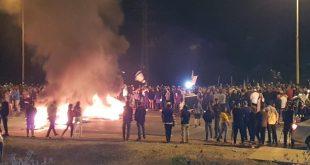 הערב: אלפים בהפגנה בצומת ניר עם