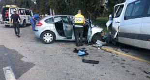 אב ובנו החייל נהרגו בתאונת דרכים בצהריים סמוך לשדרות