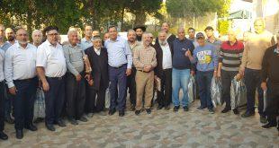 הרמת כוסית לחג הפסח לגבאי ורבני בתי הכנסת בשדרות