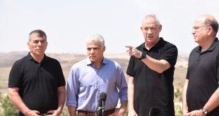 בני גנץ בשדרות: ״הסבב הבא מול החמאס יהיה האחרון. לא תהיה הסדרה אלא הכרעה צבאית של החמאס.״