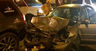 שני פצועים בינוני בתאונת דרכים בצומת חלץ